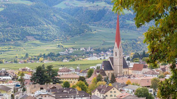 Schlanders in Südtirol