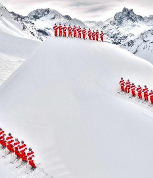 Team Austria beim Interski Kongress 2011 in St. Anton