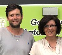 Team des Jugendtreff Homebase (Christoph Wolf und Caroline Falch)