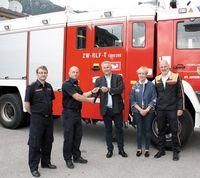 Übergabe Feuerwehrauto an Feuerwehr in Kroatien