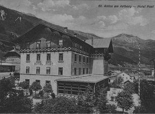 Historische Ansicht: Hotel Post