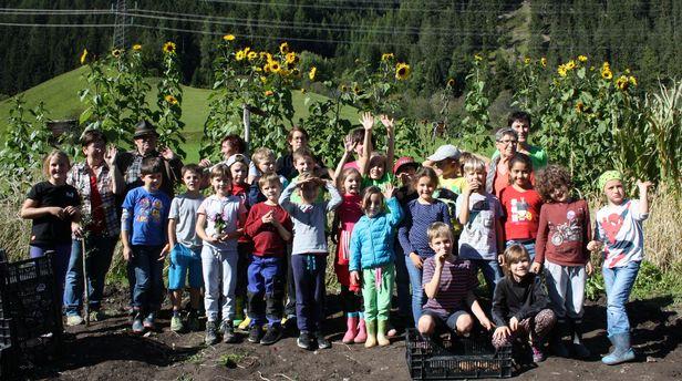 Projekt mit Kindern der Sozialen Vision Stanzertal