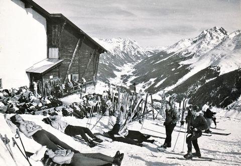 Historische Ansicht: Galzigbahn um 1937
