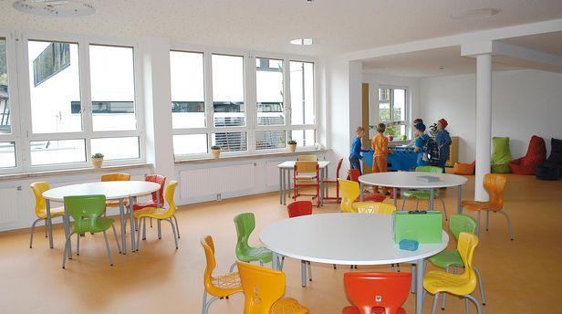 Gemeinschaftsraum Volksschule St. Anton