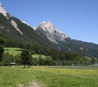 zukünftiger Verlauf Radweg Stanzertal Abschnitt Schnann