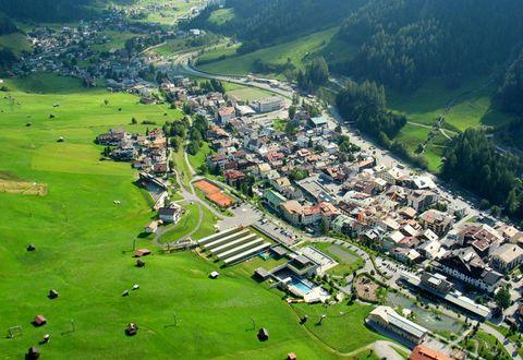 St. Anton am Arlberg von oben