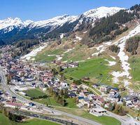 Drohnenfoto St. Anton am Arlberg