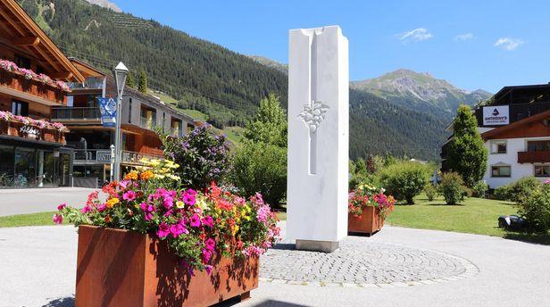 Schlanders Denkmal in St. Anton