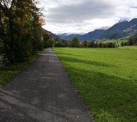 Radweg Stanzertal Abschnitt Pettneu