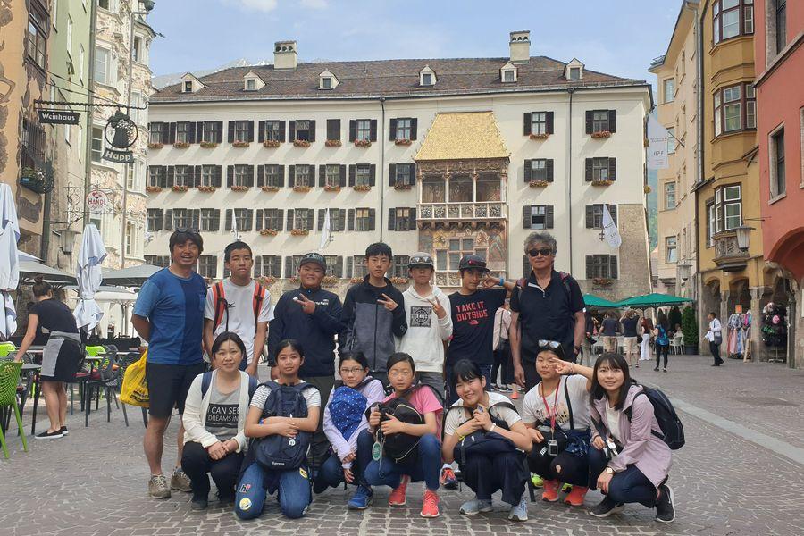 Schüleraustausch der Partnergemeinde Nozawa Onsen (Japan) in Innsbruck