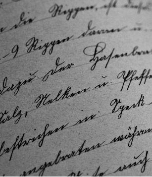 Historische Ansicht: Urkunde