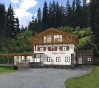 Visualisierung Wagner Hütte Außenansicht